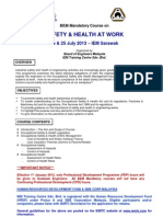IEM Safety & Health at Work