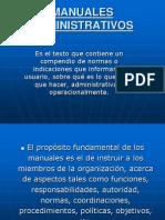Clase 7 - Racionalizacion- Manuales Administrativos