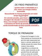 SISTEMA DE FREIO PNEMÁTICO