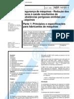 Abnt - Nbr 14171 - Forno Industrial a Gas - Requisitos de Seguranca