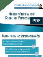 Princípios de Interpretação dos Direitos Fundamentais