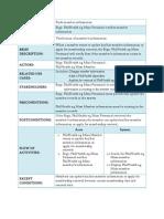 Use Case - Full Description (Personnel)