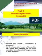 Tajuk 9 Perkembangan Kendiri Personaliti