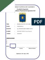 1° Informe - Reconocimiento, alineamiento, perpendiculares, angulos y cartaboneo