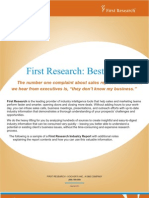 Sample Business Research Report