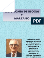Taxonomia de Bloom y Marzano