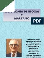 Taxonomia de Bloom y Marzano