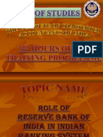 ROLE OF RBI IN INDIAN BANKING SYSTEM