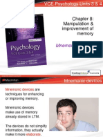 manipulation and improvement of memory
