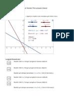 Workshop 5.2 – Visualisasi Sistem Persamaan Linear