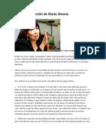 La desinformación de María Jimena