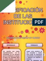 clasificaciondelas instituciones