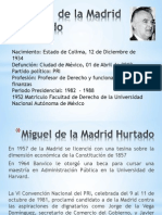 Miguel de La Madrid Hurtado