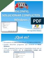Msconfig Windows 7
