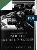 Libro Completo de Inciensos, Aceites e Infuciones