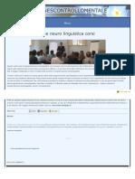 programmazione neuro linguistica corsi