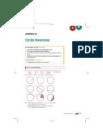 Circle Theorems Chapter