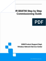 ZXSDR BS8700 Step by Step Commissioning Guide