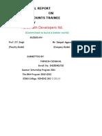 61191071 Parsvnath Develpoers Project