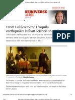 LAquila Galileo Guardian