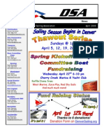 2009 04 Apr Newsletter