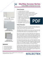 SKyWay-Access Datasheet 1.0 032811