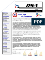 2009 03 Mar Newsletter