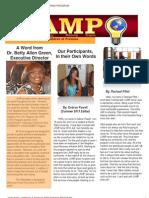 LAMP Summer 2013 Newsletter