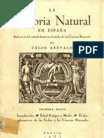 Arevalo Celso - La Histora Natural En España