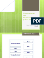Componentes Del Microprocesador y Vista Funcional