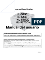 Manual Brother Hl5150d