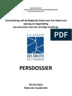 Veroordeling Van de Belgische Staat