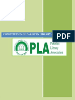 Constitution of Pakistan Library Association
