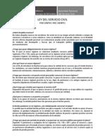 Faq Ley Servicio Civil