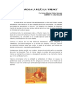 COMENTARIOS A LA PELÍCULA FREAKS