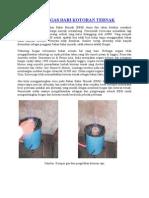 Membuat Biogas Dari Kotoran Ternak