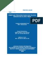 Its-nondegree-7681-7406030045-Pemetaan Frekuensi Radio Dan Televisi Dengan Gis Di Jawa Timur