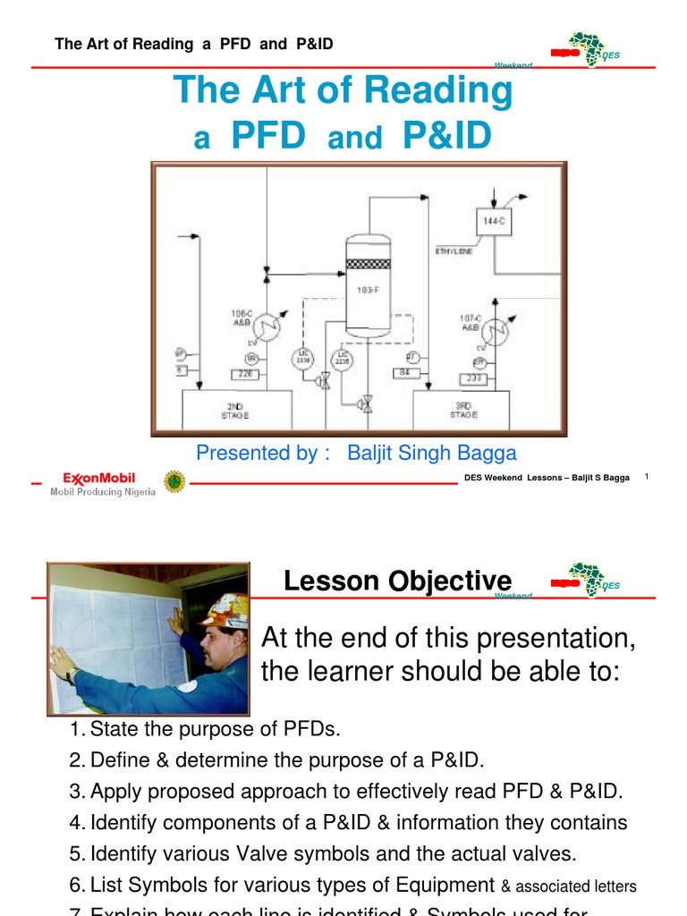 how to read p&id pdf