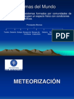 Meteorización (A)