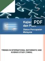 11. Status Pencapaian Malaysia Dalam TIMSS Dan PISA 1999 20