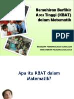 7. Pelaksanaan KBAT Dalam Matematik