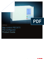 ABB REC670 1MRK511232-BEN D en Product Guide REC670 1.2 Pre-configured