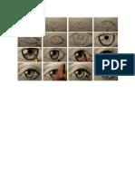 Cara Gambar Mata
