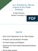 Short-Circuit Protective Device Coordination & Arc Flash Analysis