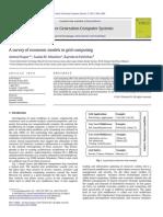economic model in grid computing