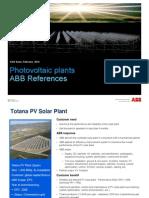 ABB PV References