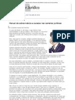 Conjur - Segunda Leitura_ Manual de sobrevivência e sucesso nas carreiras jurídicas