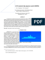 Validation of the NATO-Standard Ship Signature Model (SHIPIR)