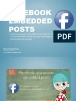 How to use Facebook Embedded Posts