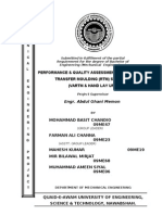 Performance & Quality Assessment of two Resin Transfer Moulding (RTM) System                              By                Mohammad Basit Chandio                              &                    Farman Ali channa